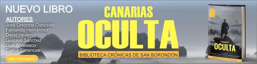 27 de octubre en AGAPEA, presentación y firma de CANARIAS OCULTA