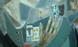 las tiradas de cartas aparecen en la obra de padron de manera habitual
