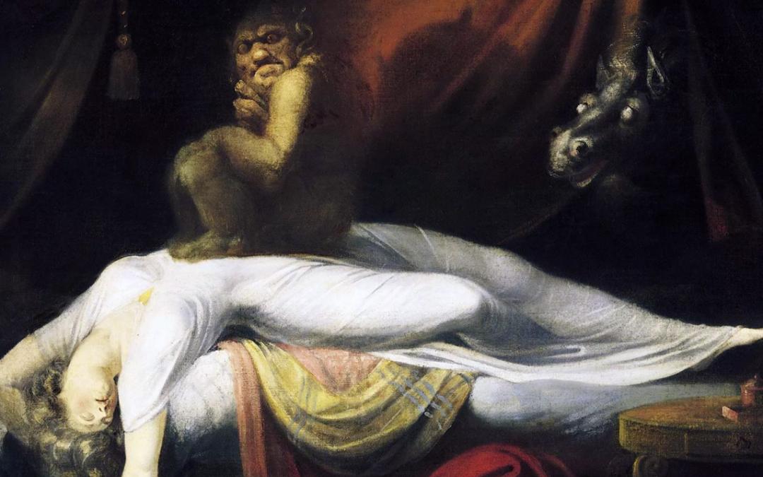 DEMONIOS EN LOS SUEÑOS – El inquietante síndrome de la parálisis del sueño