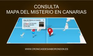 MAPA DEL MISTERIO EN CANARIAS
