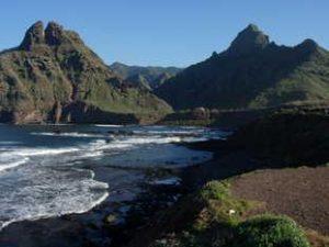 Punta del hidalgo en Tenerife