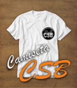 camiseta blanca CSB