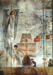 Dali Dream of Christopher Columbus 1959