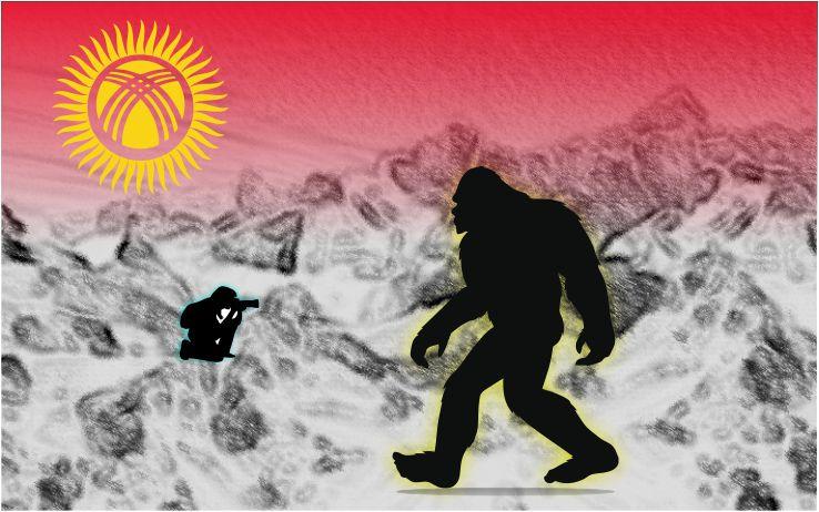 GRANDES HUELLAS TIPO BIGFOOT – Provincia de Naryn, Kirguistán