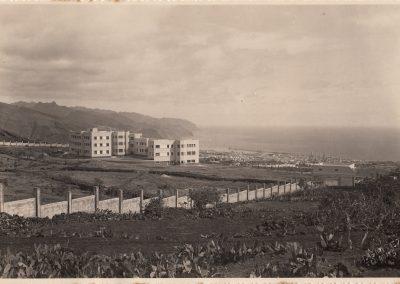 El hospital funcionó antiguamente como sanatorio para tuberculosos