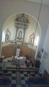 Un turista alemán aseguró haber fotografiado una monja de aspecto fantasmal en la capilla.