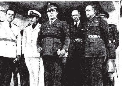 Nota de prensa de ABC haciéndose eco de la inauguración del Hospital del Tórax en 1945.
