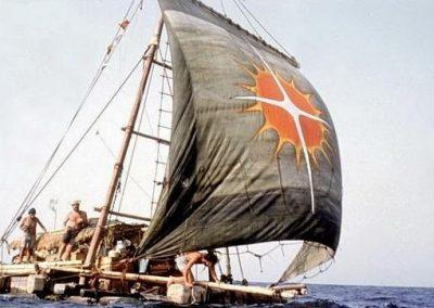 la balsa de la expedicion atlantis2