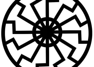 simbolo del sol negro nazi