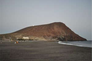 Montaña roja- La Tejita