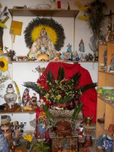 Trono Changó en Arafo