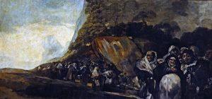 "Goya ""Paseo del Santo Oficio"""