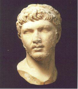 Busto de Ptolomeo de Mauritania_Museo de Louvre
