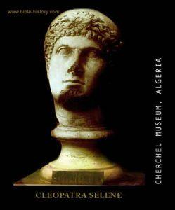 Cleopatra Selene_busto_Museo de Cherchel.Argelia