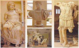 Esculturas romanas de Iol-Caesarea. Cherchel