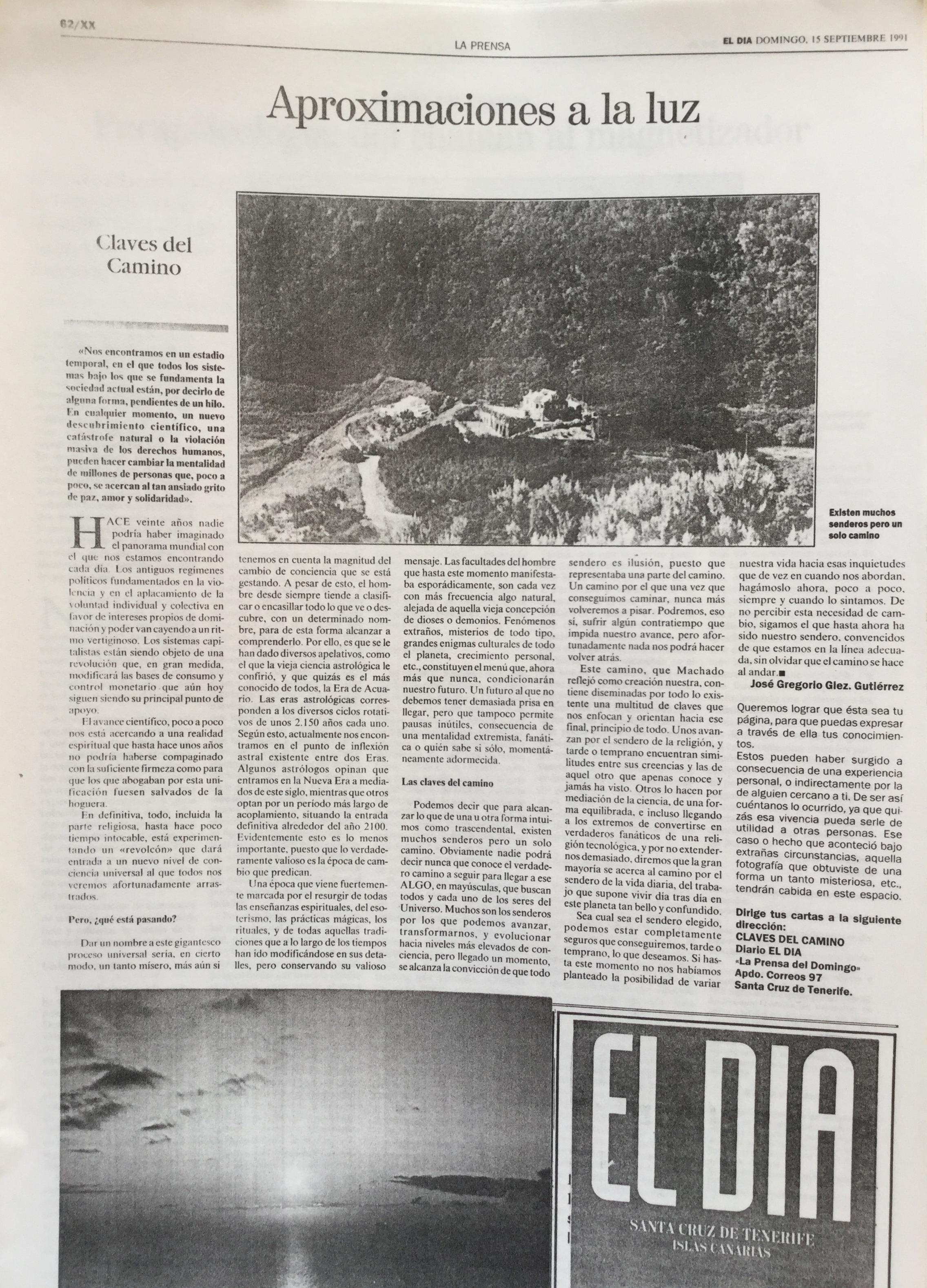Claves del Camino - 1991