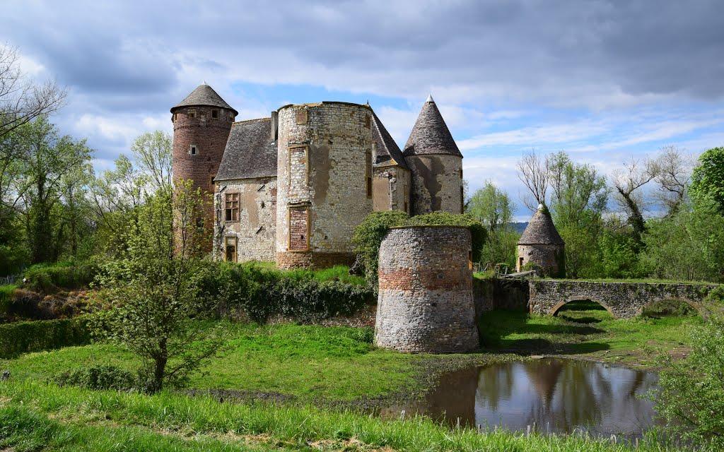 El castillo de Arginy, germen del linaje sagrado
