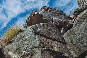 El Verde (El Paso). Escrito en piedra (Cajacanarias)