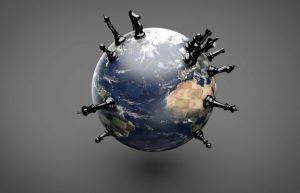 Globe – Pions noir