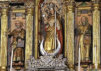 La cosmogonía indígena se oculta en los orígenes de la Virgen de Candelaria de Tijarafe (isla de La Palma)