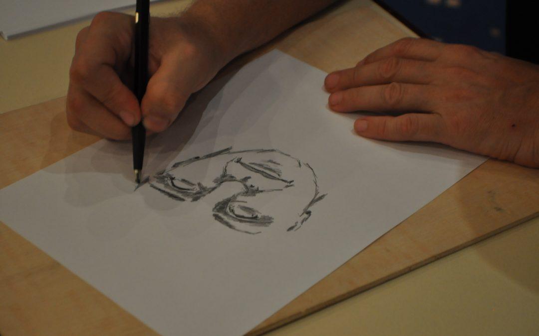 Historia de un médium canario; dibujando a los guías espirituales; guanche y mujer; Madrid misterioso; y Magic 2018 en CSB
