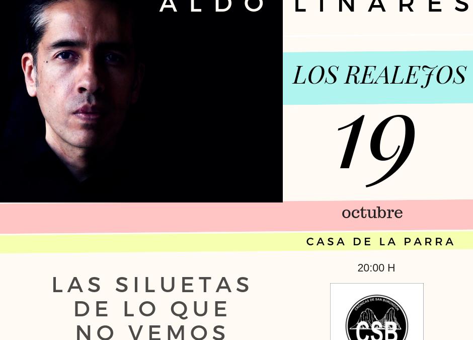 Aldo Linares, en Tenerife el 19 de octubre.