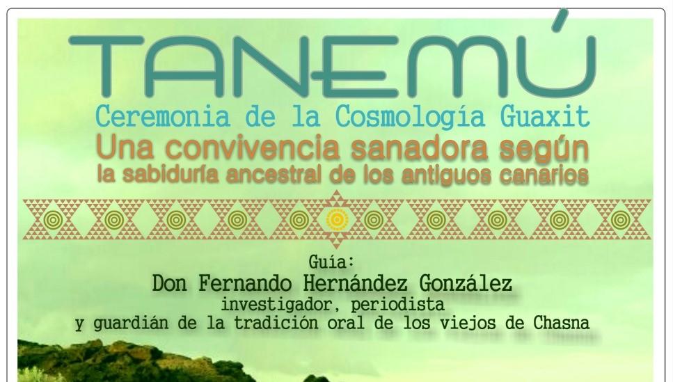 TANEMÚ – Ceremonia de la Cosmología Guaxit