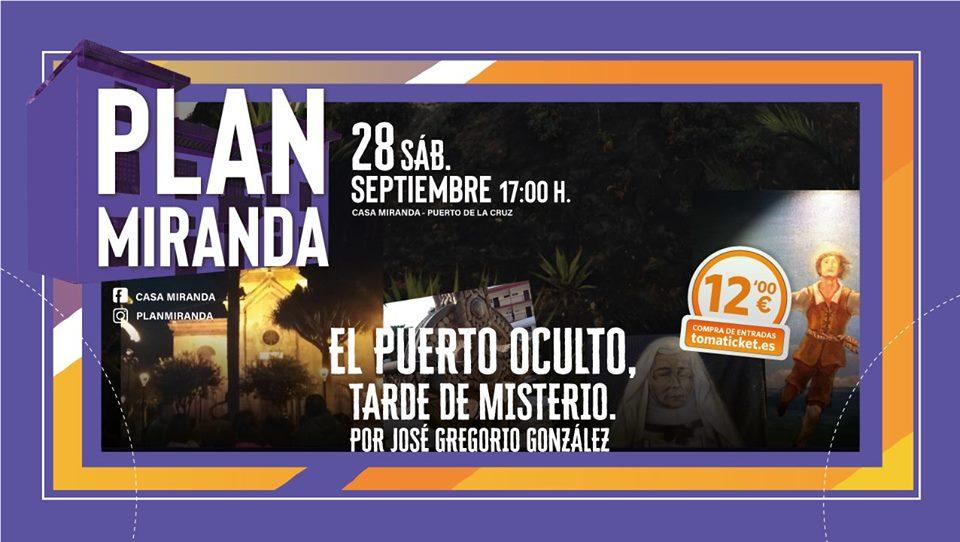 Los secretos y enigmas de Puerto de la Cruz, salpimentarán este sábado el paseo El Puerto Oculto