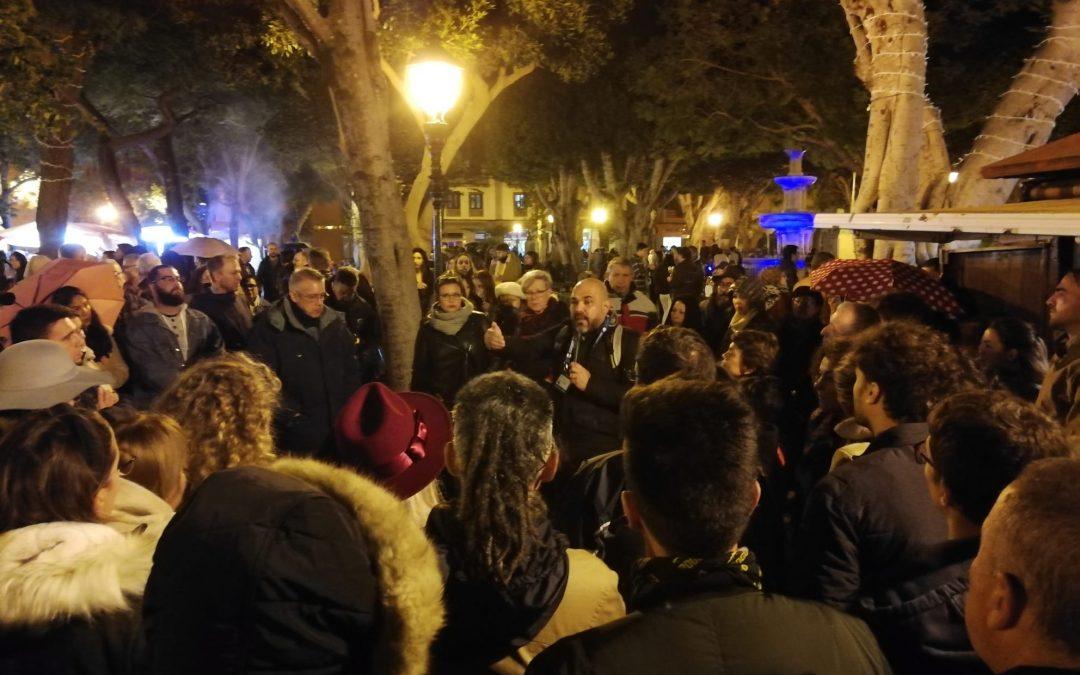 Amable overbooking en el CSB Noche en Blanco
