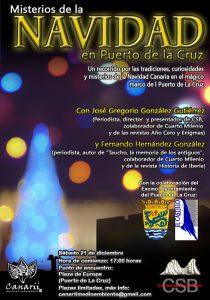Cartel Puerto de la Cruz Navidad