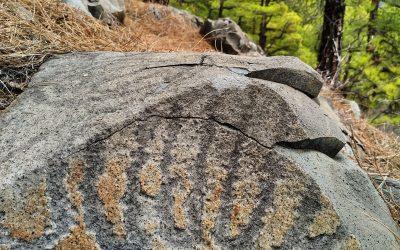El mensaje rupestre de Tierras Nuevas, en el Bejenao de La Palma