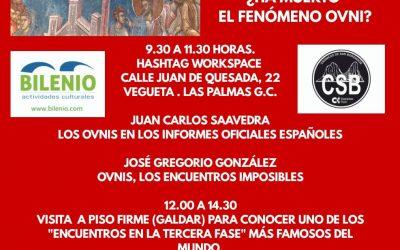 Sábado de OVNIS el 29 de agosto en Gran Canaria