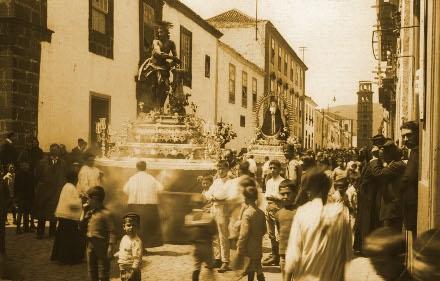 HUMANAS PASIONES: una procesión de comedia. Historias de conventos canarios (III)