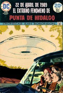 OVNI Punta del Hidalgo