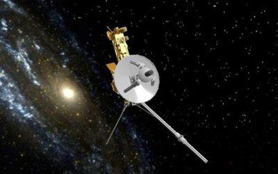 """El ruido de fondo cósmico detectado por la Voyager 1; el """"hum"""" del espacio"""
