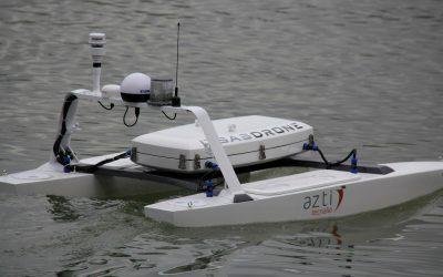 Un dron marino para monitorizar datos del cambio climático de forma autónoma