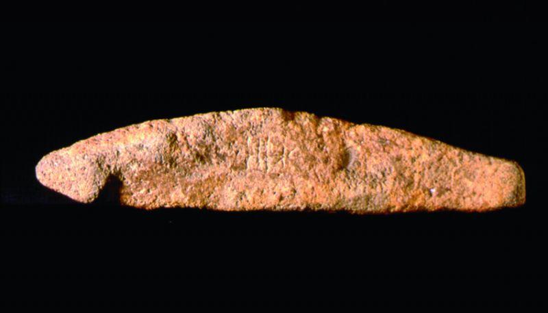 La grafía de las piedras en discordia